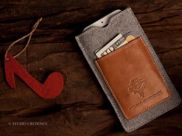 Studio Credence Sleek Wallet iPhone 5C Case