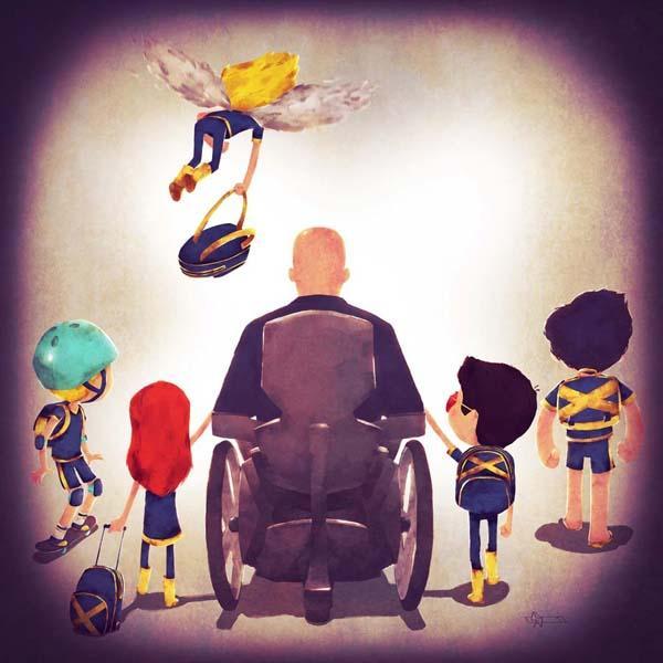 Superhero Families Art Prints Gadgetsin