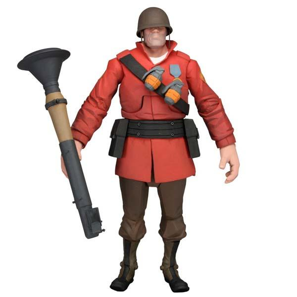 Team Fortress 2 Heavy & Soldier Action Figures