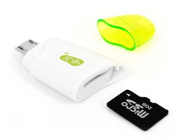 The 2-In-1 USB Card Reader for Computer and Smartphone