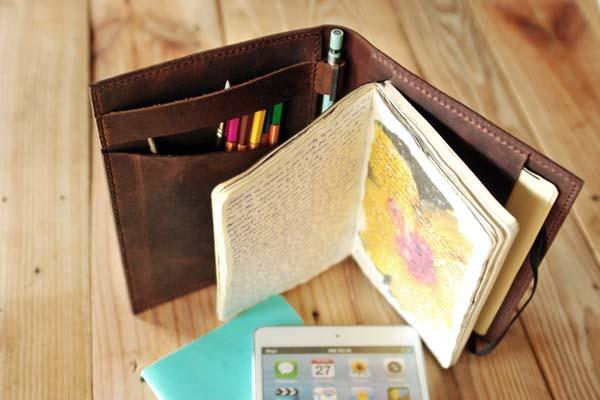 The Handmade iPad Mini Case and Large Moleskine Cover