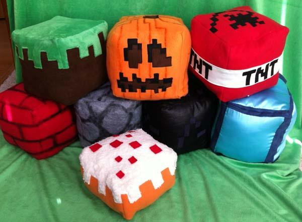 The Handmade Minecraft Inspired Plush Cutes