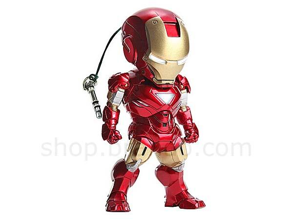 The Iron Man Mini Figure to Protect Your Headphone Jack