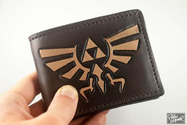 The Legend of Zelda Indpired Leather Wallet