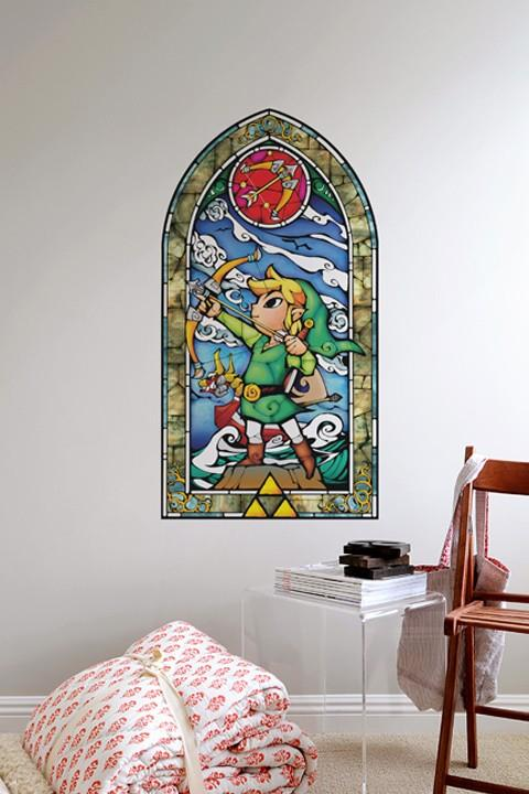 The Legend Of Zelda Wall Decal Series Gadgetsin