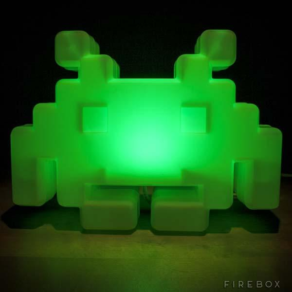 The Space Invaders Alien Lamp