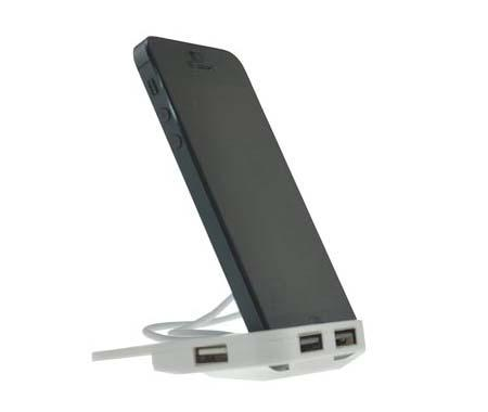 The USB Hub with Lightning Cable for iOS Devices