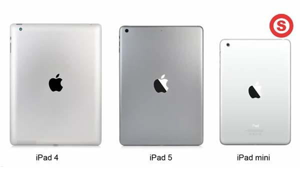 The Video Shows The Difference Between iPad 5, iPad 4 and iPad Mini