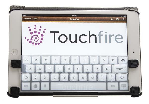 TouchFire iPad Mini Case with Top-Screen Keyboard Cover