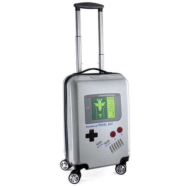 Travel Boy Gameboy Inspired Carry On Luggage