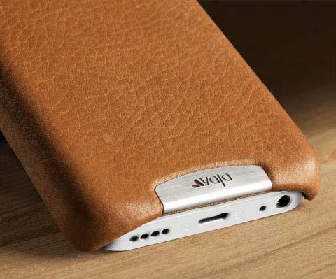 Vaja Customizable Grip Leather iPhone 5c Case