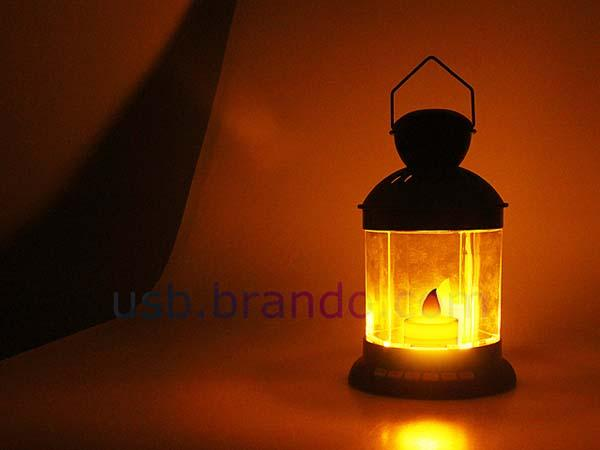 Vintage Lantern Styled Portable Speaker with Music Player