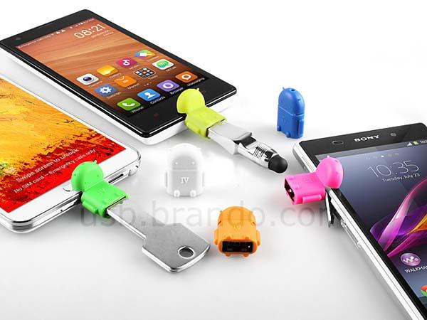Android Droid MicroUSB OTG Adapter