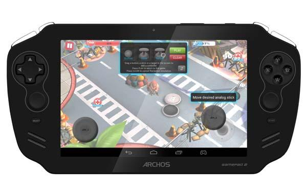 Archos GamePad 2 Gaming Tablet Announced