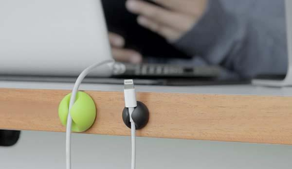 Lovely BlueLounge CableDrop Mini Cable Clip