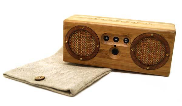 Bongo Bamboo Portable Bluetooth Speaker