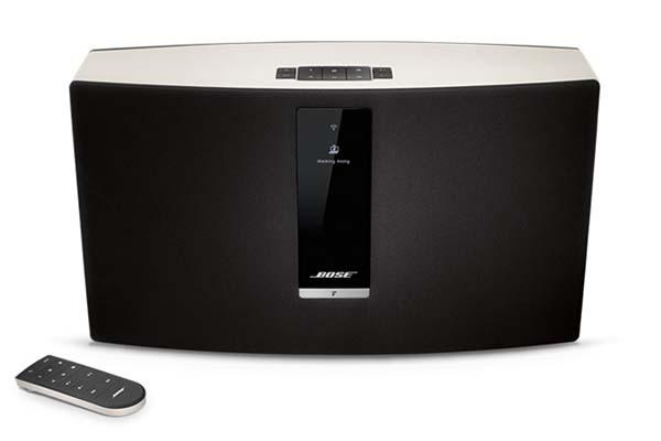 bose soundtouch 30 wireless speaker system gadgetsin. Black Bedroom Furniture Sets. Home Design Ideas