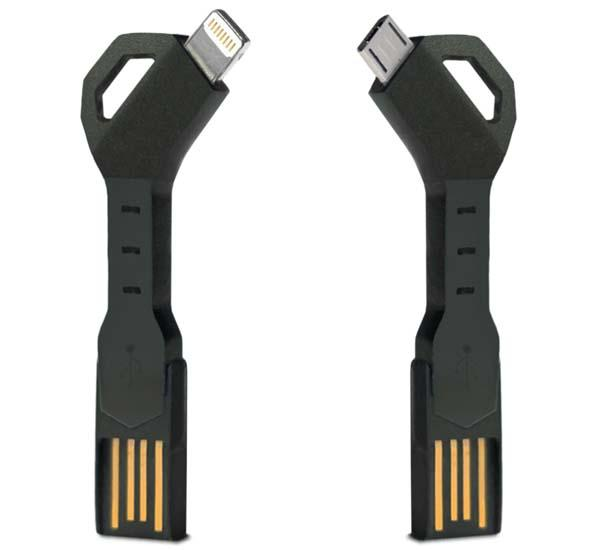 CHARGEKEY USB Charging Cable for iPhone and Android