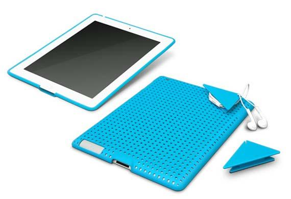 Code2 iPad Case with Cord Organizer