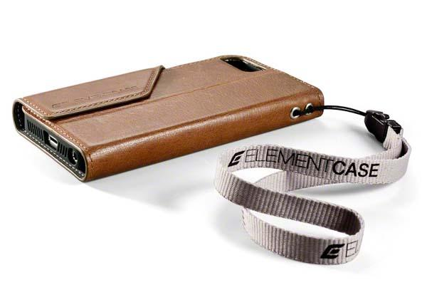 Element Case Soft-Tec Wallet Leather iPhone 5s Case