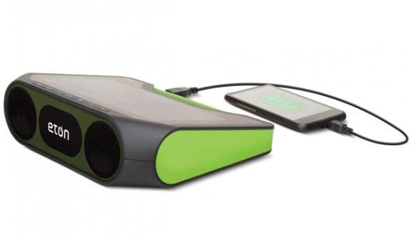 Eton Rukus Xtreme Wireless Bluetooth Speaker With Solar