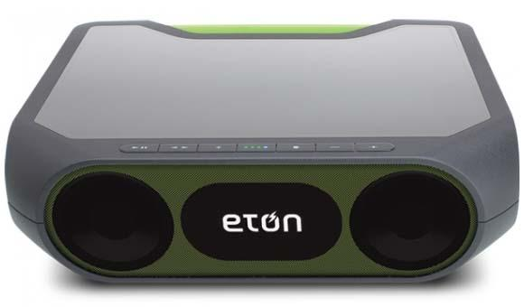 Eton Rukus Xtreme Wireless Bluetooth Speaker with Solar Charger