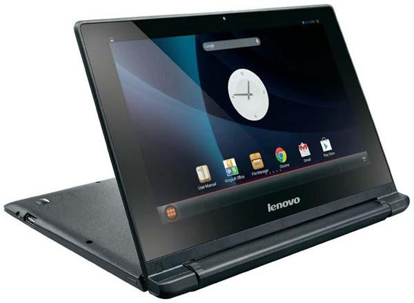 Lenovo A10 Android Powered Laptop Announced