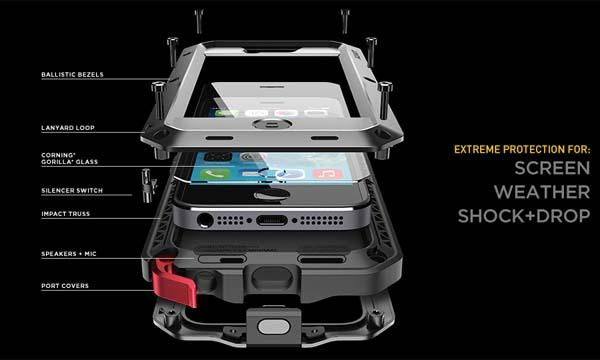LUNATIK TAKTIK Extreme iPhone 5s Case