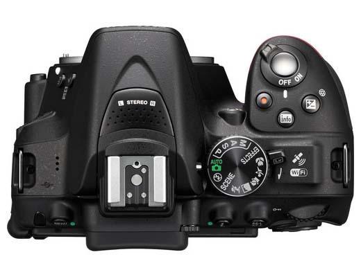 Nikon D5300 Digital SLR Camera with WiFi Announced