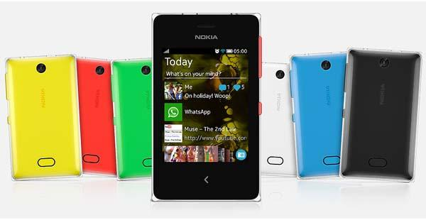 Nokia Asha 500, 502 and 503 Smartphone Announced