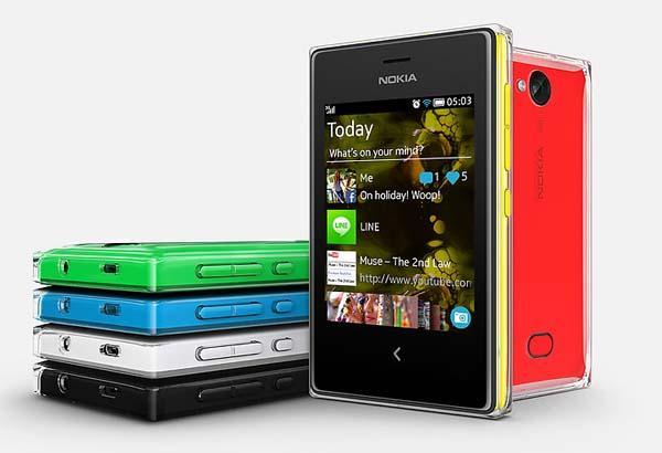 Nokia Asha 500, 502 and 503 Smartphone Announced