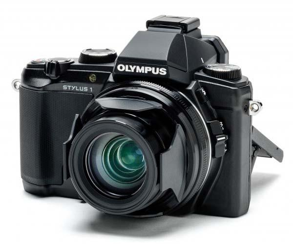 Olympus Stylus 1 Long-Zoom Compact Camera