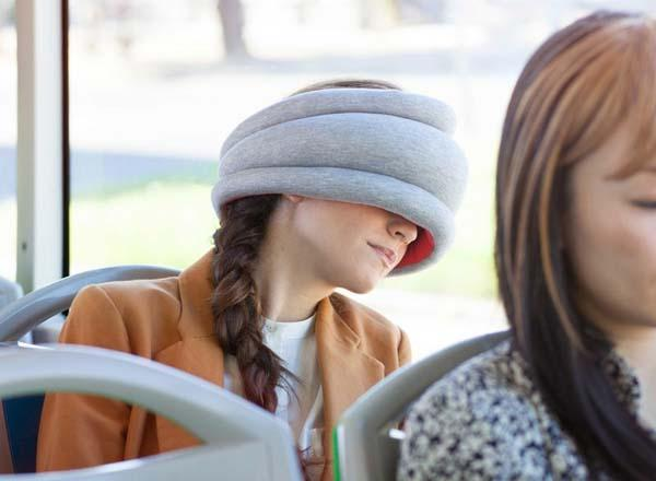Ostrich Pillow Light for Snoozing on the Go