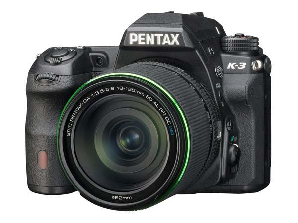 Pentax K-3 DSLR Camera Launched