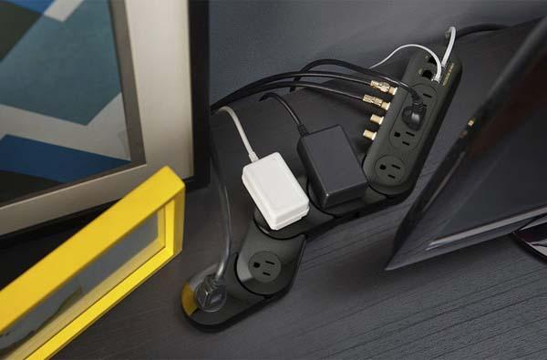 Pivot Power Media Surge Protector