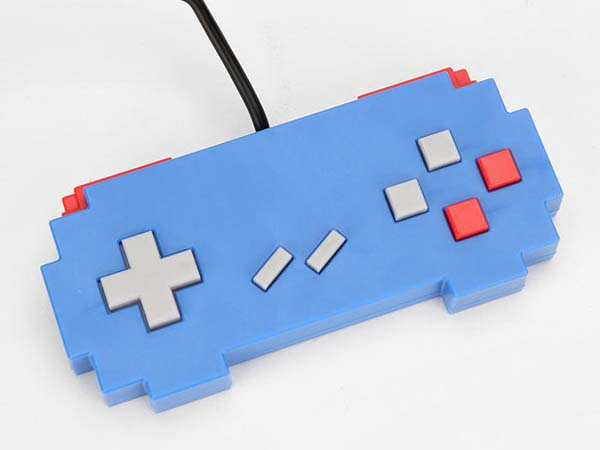 Pixelated USB Game Controller
