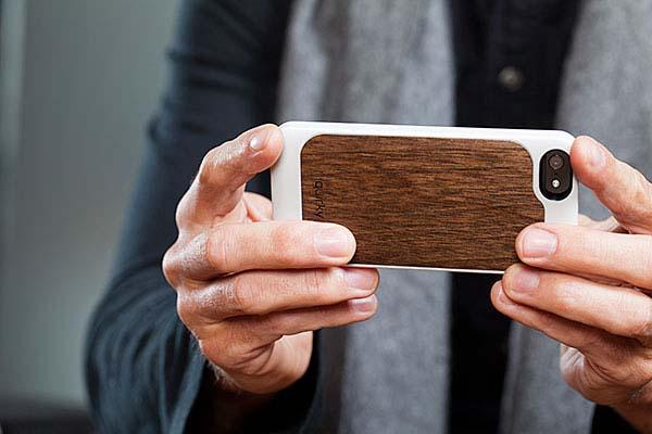 Pli Wood Veneer Slimline Case for iPhone 5/5s