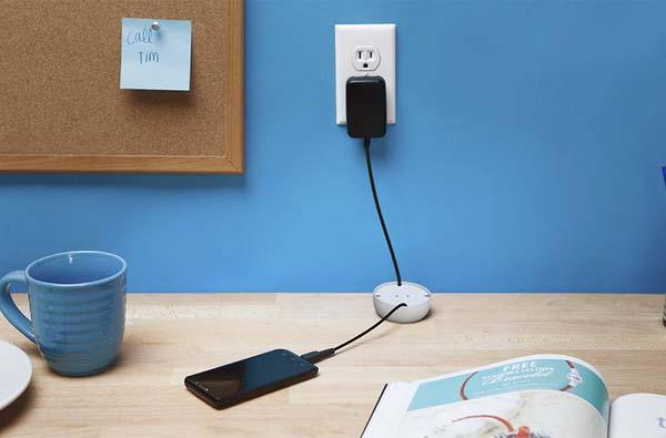 PowerCurl Mini Universal Cable Organizer