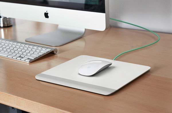 Resurge Apple Magic Mouse Mousepad with Battery Pack
