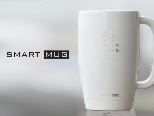Smart Mug for Your Favorite Hot Beverages