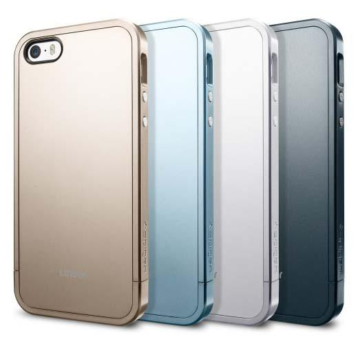 Spigen Linear Metal iPhone 5s Case