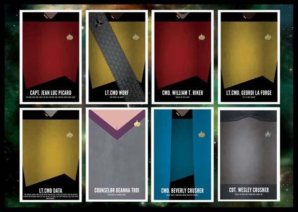 Star Trek The Next Generation Poster Set