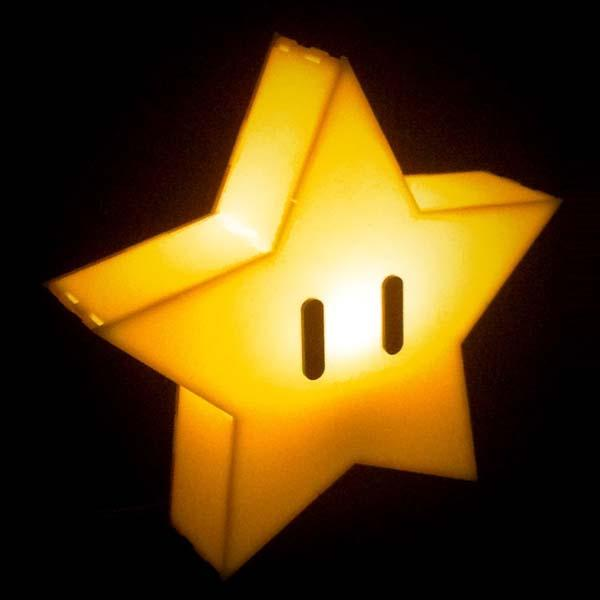 Super Mario Star Mood Light