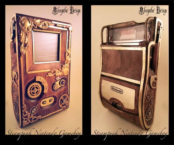The Awesome Steampunk Gameboy