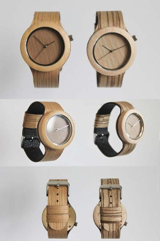 The Carpenter Collection All-Natural Wood Watch
