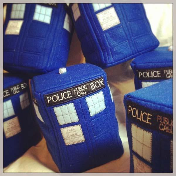 The Handmade Doctor Who TARDIS Plush Toy