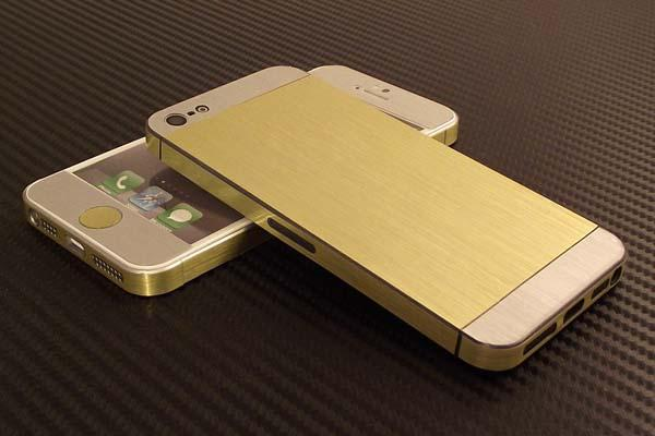 The iPhone 5s Gold Vinly Decal