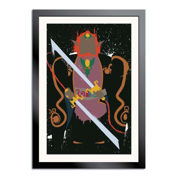 The Legend of Zelda Windwaker Splattery Poster Set