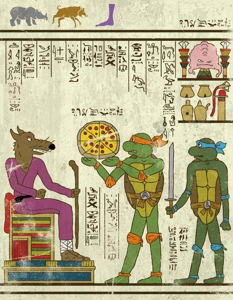 The Superheroes in Ancient Egypt