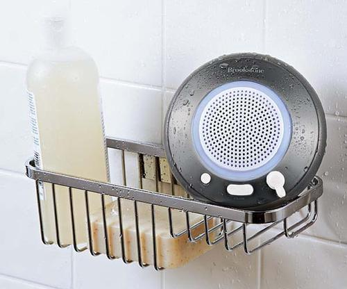 The Waterproof Bluetooth Wireless Speaker for Showers, Pools and More